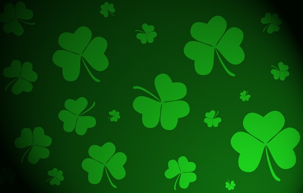 Picture background, Clover, three