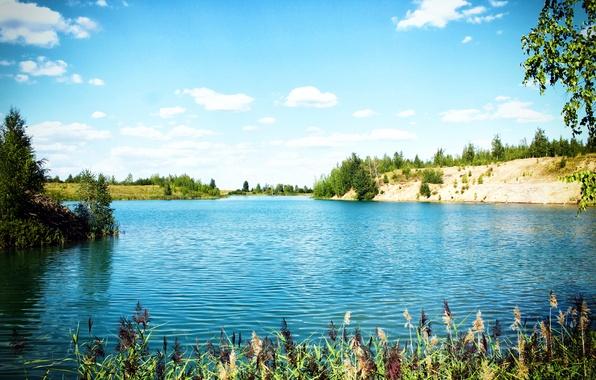 Picture nature, lake, beauty, Tula, Hub, Kireevsk