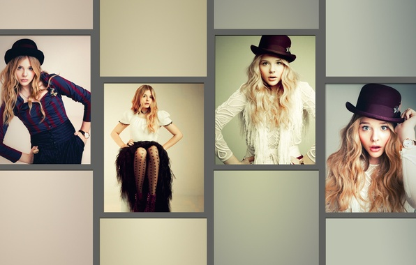 Picture girl, collage, actress, Chloe Grace Moretz, Chloë Grace Moretz, Chloe Grace Moretz, Chloe Moretz