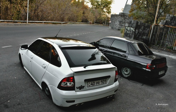 Photo wallpaper Lada, BPAN, Auto, priora, 2110, VAZ, Lada, auto, machine, Without Landing Auto No, prior