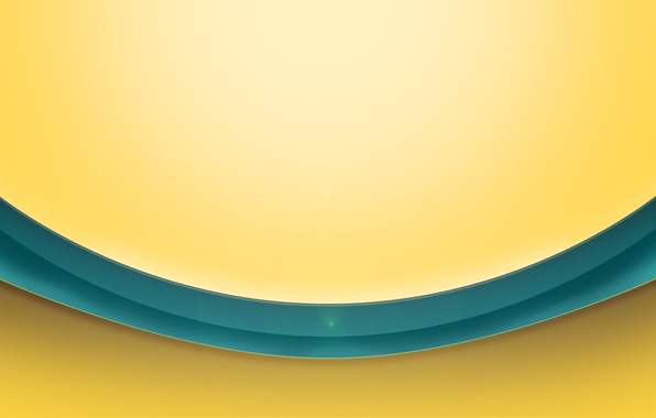 Picture yellow, background, strip, Blik, the volume, turquoise