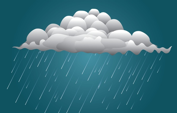 Picture water, drops, background, rain, mood, Wallpaper, cloud, clouds