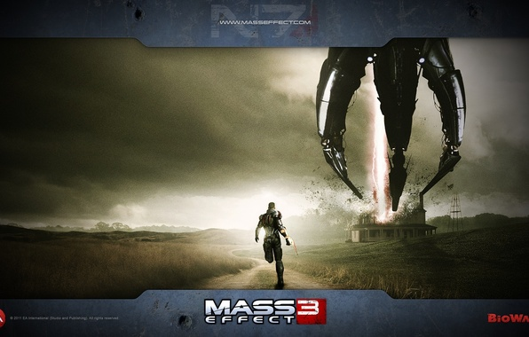 Picture Mass Effect 3, Shepard, The reapers, Rpg