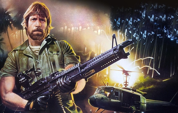 Picture Vietnam, Chuck Norris, Action, Missing in Action, Missing, Colonel Braddock