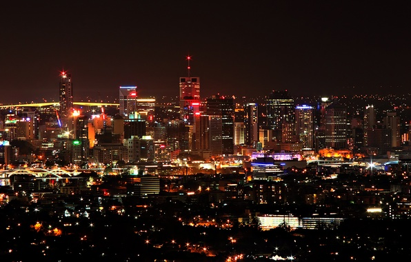 Picture night, Lights, The city