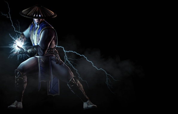 Picture smoke, fighter, current, Raiden, Raiden, Warner Bros. Interactive Entertainment, NetherRealm Studios, Mortal Kombat X