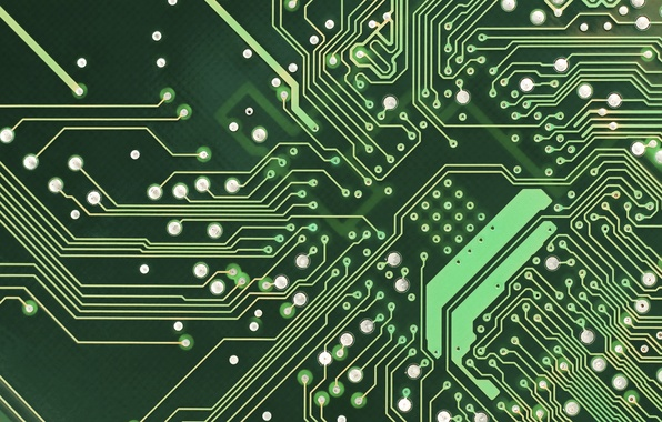 Picture circuit board, connectors, computer engineering