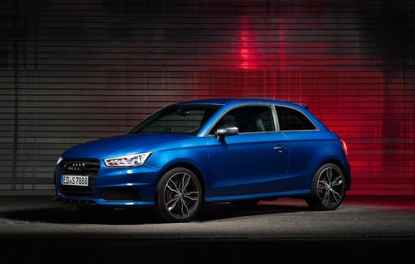 Picture Audi, blue, blue