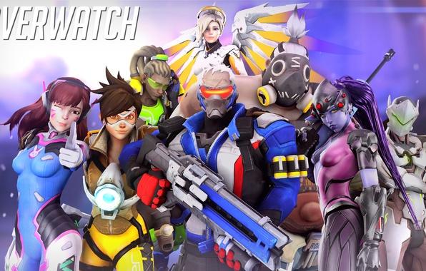 Picture ninja, Jack, Overwatch, Tracer, Widowmaker, Lena Oxton, Amélie Lacroix, Mercy, Mako Rutledge, D.Va, Hana Song, …