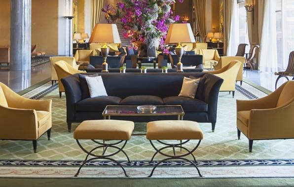 Picture hotel, luxury, decoration, reception