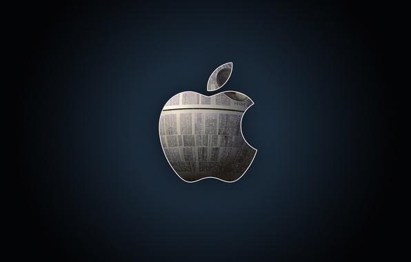 Picture metal, apple, Apple, logo, hi-tech