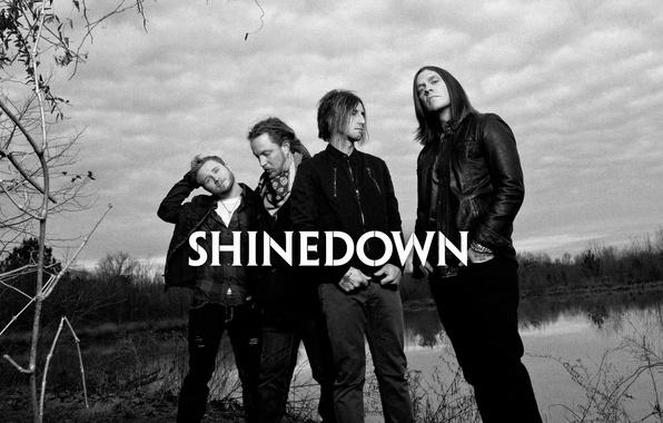 Photo Wallpaper Alternative Metal American Rock Band Music Shinedown