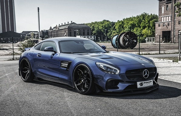 Picture Mercedes-Benz, Mercedes, supercar, Mercedes, AMG, Prior-Design, C190, PD800GT
