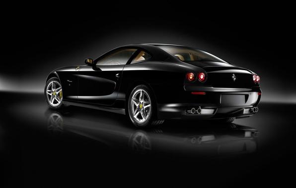 Picture auto, machine, black, ferrari, Ferrari