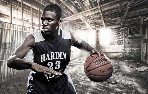 Picture sport, basketball, Kevin Ransom