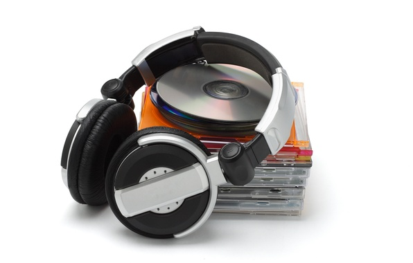 Picture music, ago, headphones, drives, style, first, boxes, years, HD wallpapers., Disc, jewel box, sale, jewel …