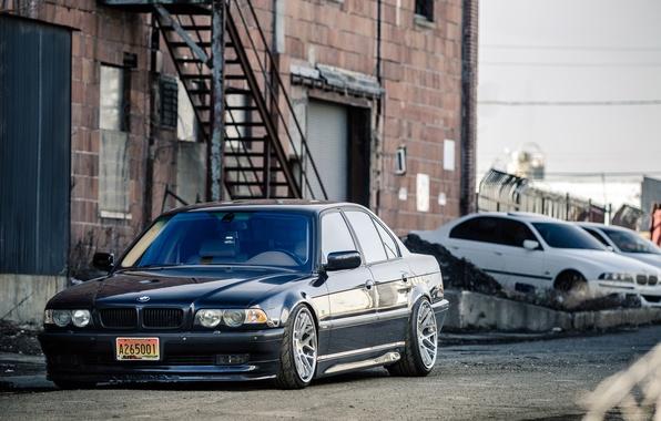 Picture BMW, Boomer, BMW, Stance, E38, Bimmer, 750il