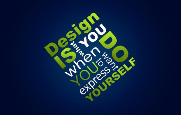 Picture Design, Design, Words, Text