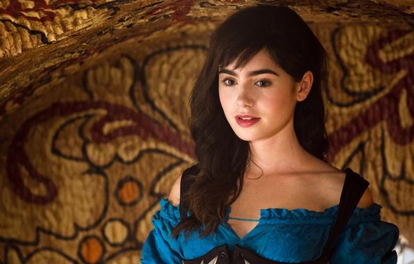 Picture fantasy, Snow white, Lily Collins, Snow White, Lily Collins, Snow white: Revenge of gnomes, Mirror …