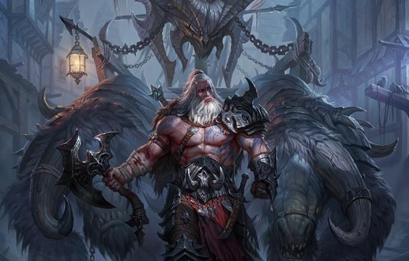 Photo Wallpaper Diablo 3 Reaper Of Souls Axe III