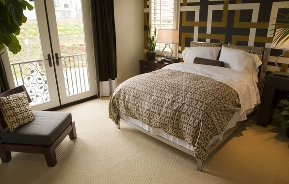 Picture design, style, room, furniture, bed, interior, chair, balcony, bedroom