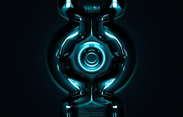 Picture the film, round, neon, the throne, tron