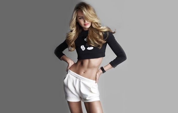 Picture look, girl, face, sexy, background, model, hair, shorts, sexy, beauty, Victoria's Secret Angels, Candice Swanepoel, …