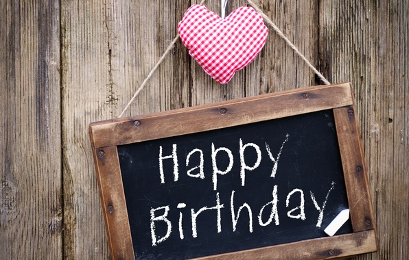 Picture love, happy, heart, wood, holiday, birthday, congratulations