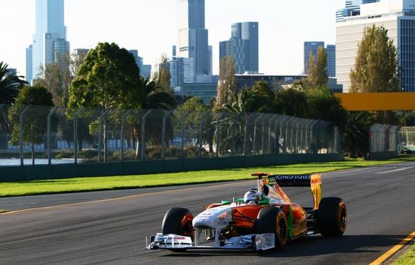 Picture 2011, Australia, Grand Prix, andrian sutil, force india, australiangp