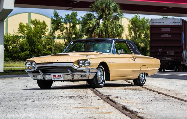 Photo wallpaper Ford, Thunderbird, Thunderbird, 1964, Ford