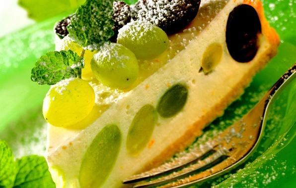 Picture food, cake, cake, fruit, cake, dessert, food, grape, sweet, fruits, dessert, cheesecake, cheesecake, grapes