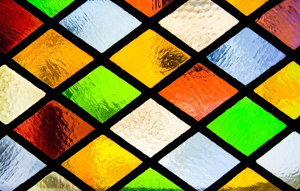 Picture glass, colorful, window, stained glass, glass, window, mosaic, stained