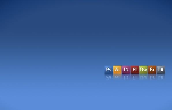 Picture Adobe, Bridge, dreamweaver, products, Illustrator, icons, logos, PhotoShop