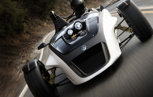 Picture track, Volkswagen, race, the car, buggy