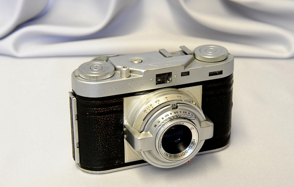 Picture background, the camera, lens, case, aperture, viewfinder, Wirgin Edixa Lentille Isconar, 43mm