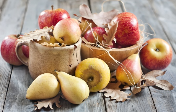 Picture apples, fruit, pear