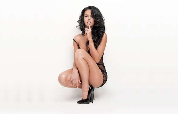 Picture girl, face, sexy, background, hair, body, figure, brunette, singer, legs, sexy, beauty, waist, Katerina Bazhenova, …