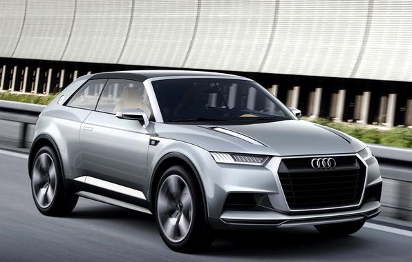 Picture Concept, Audi, The concept, Car, Car, Coupe, Wallpapers, Wallpaper, Audi Crosslane, Crossley