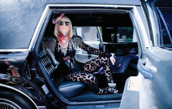 Picture car, girl, music, actress, singer, fashion, celebrity, pink, singer, fame, Lady Gaga, icon, pop, Lady …