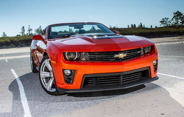 Picture Chevrolet, Machine, Desktop, Camaro, Camaro, Car, Car, Wallpapers, Orang, Convertible, Wallpaper, ZL1, Chevrolet, Muscle, Mucle …