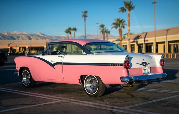 Picture retro, Ford, classic, 1956, Victoria