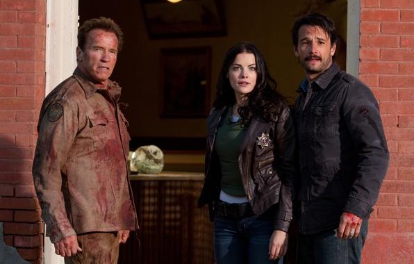 Picture Schwarzenegger, Jaimie Alexander, Return of the hero, The Last Stand, Sheriff, Rodrigo Santoro, Rodrigo Santoro, …