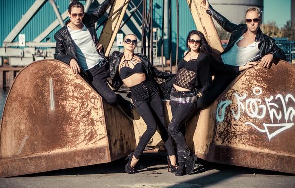 Picture style, girls, jeans, glasses, guys, model, Katja Kalugina, Dmitry Barov, Daniel Federico Slemties, Alina Just, …