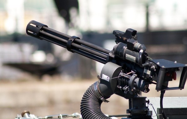Picture weapons, machine gun, multicore, M134 Minigun