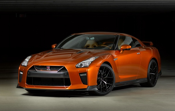 Photo wallpaper GT-R, Nissan, Nissan, R35