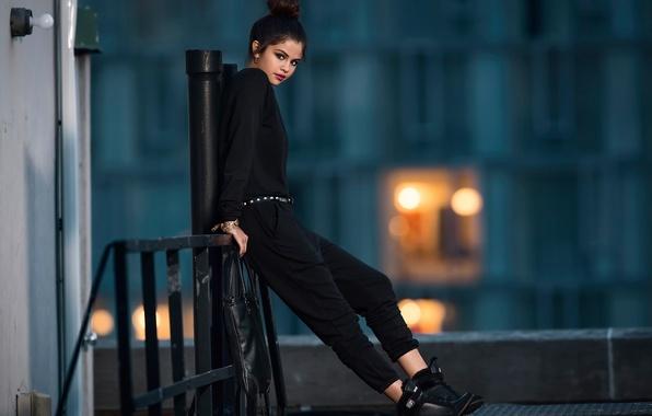 Picture photoshoot, brand, Selena Gomez, Adidas Neo