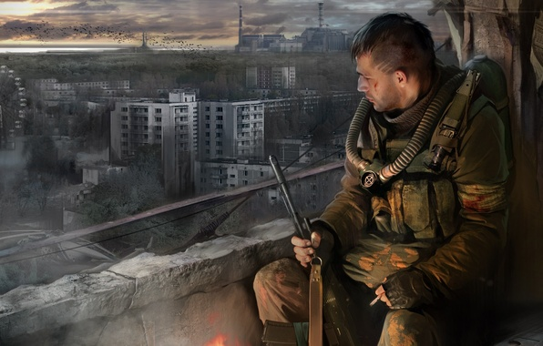 Picture Call Of Pripyat, S. T. A. L. K. E. R., STALKER, Call of Pripyat