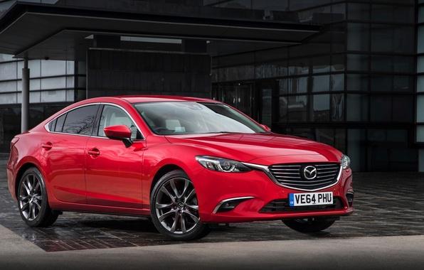 Picture Mazda 6, Mazda, Sedan, UK-spec, 2015