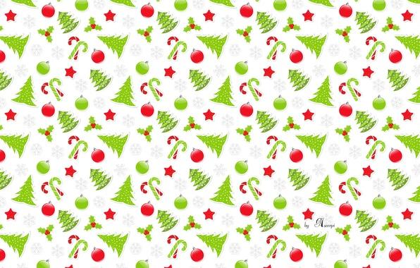Picture snowflakes, lollipops, tree