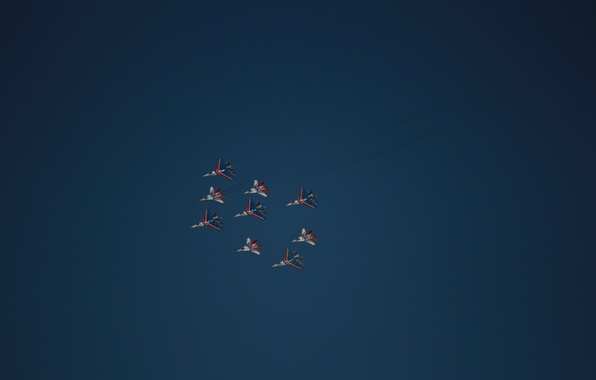 Picture knights, Swifts, MiG 29, su 27